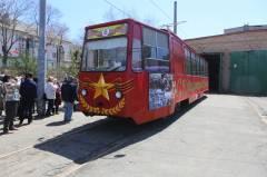 Владивостокский трамвай завтра отпразднует день рождения
