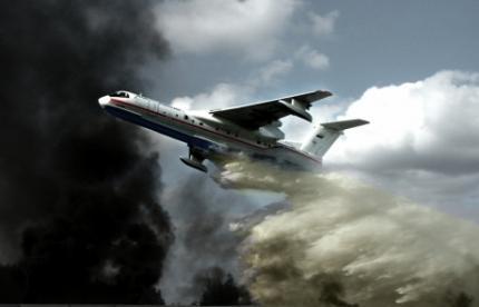 Для борьбы с лесными пожарами в Приморье направлены самолеты-амфибии