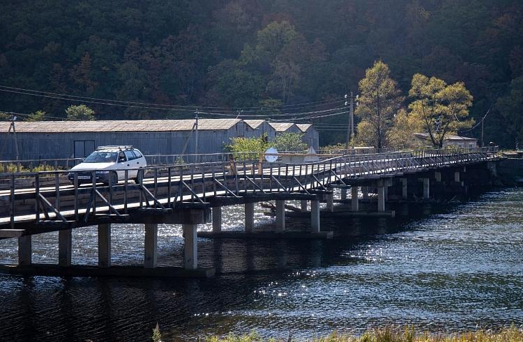 Мост в Преображение будет восстановлен в течение года
