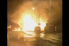 Популярное кафе сгорело ночью во Владивостоке