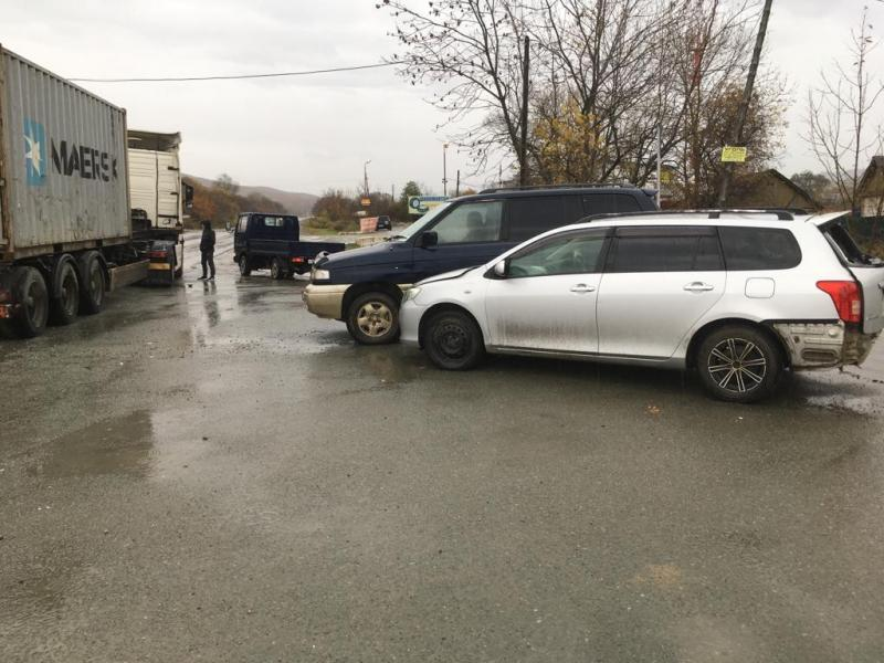 Трое детей пострадали в результате ДТП в Приморье