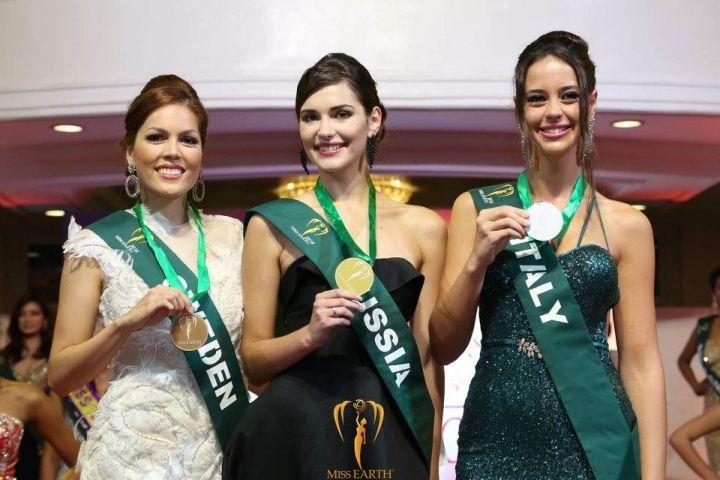 Красавица из Приморья выиграла промежуточный конкурс на «Мисс Земля – 2016»