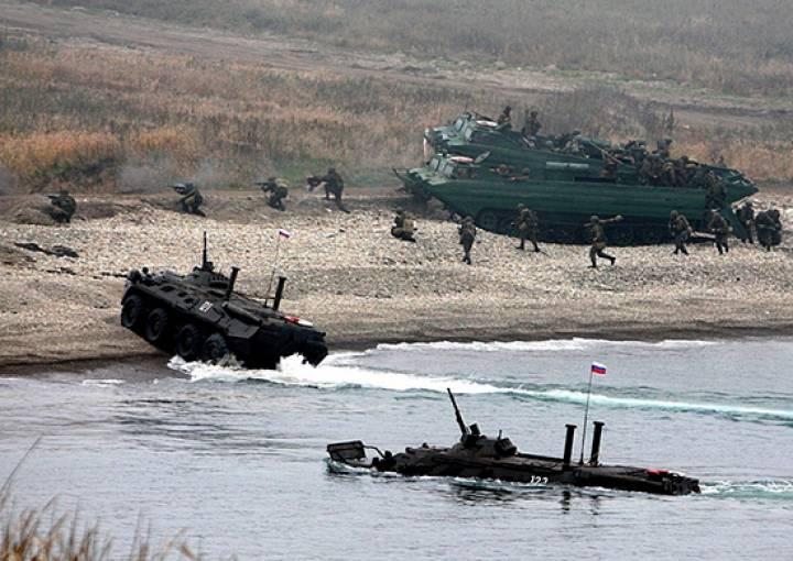 Морская пехота ТОФ начала подготовку по защите приморского побережья