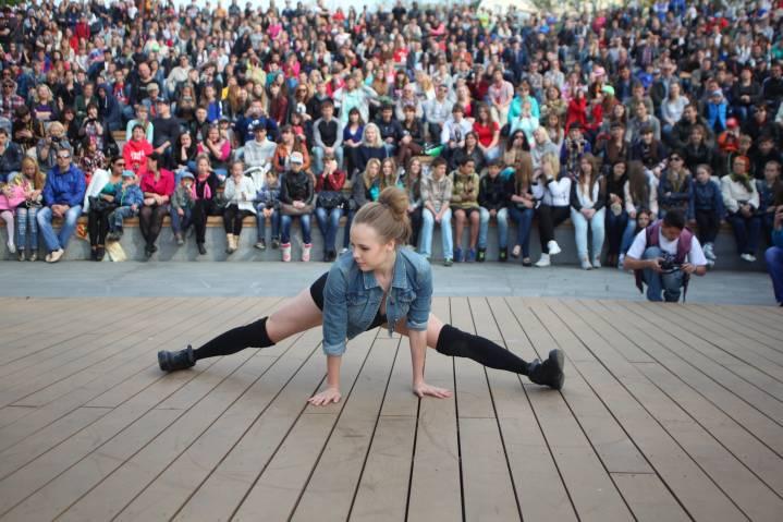 Зажигательный танец птички во Владивостоке записали на камеру