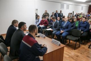 Врио губернатора Приморья встретился с работниками ООО «Лермонтовский ГОК»