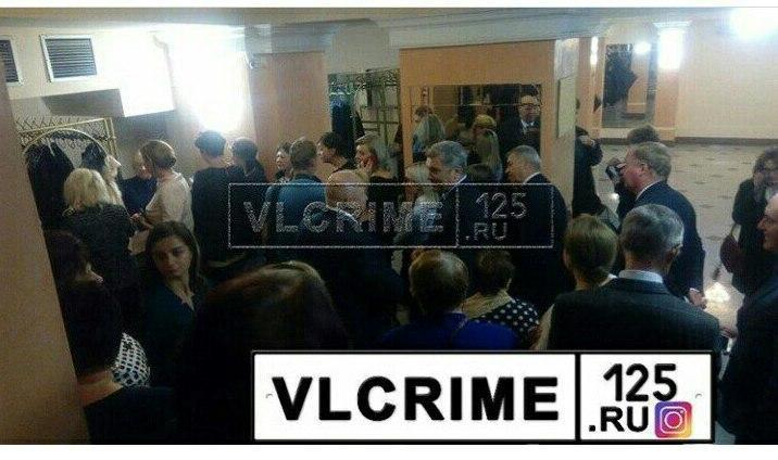 Торжественное собрание в честьгодовщины образования Приморья закончилось эвакуацией