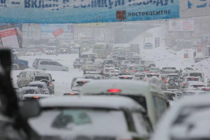 На выходных в Приморье может пойти ледяной дождь