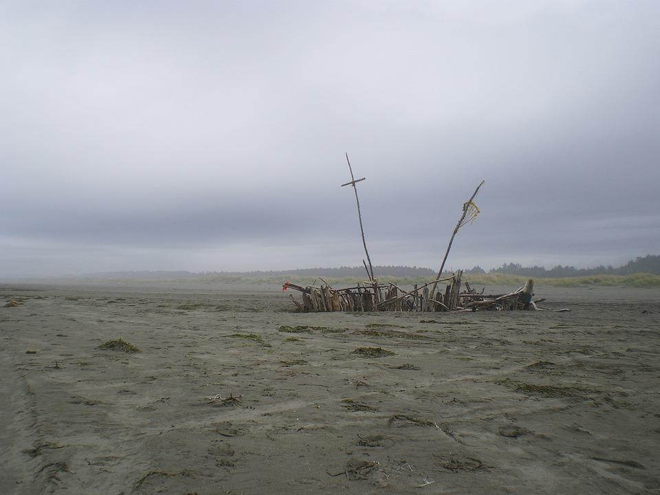 «Живых никого не вижу»: «корабль-призрак» сняли на видео в Приморье