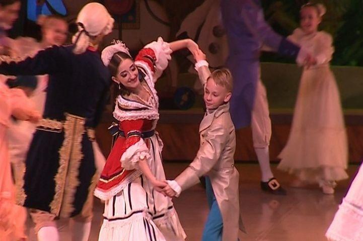 Юные балерины из Приморья выступили на сцене Мариинки