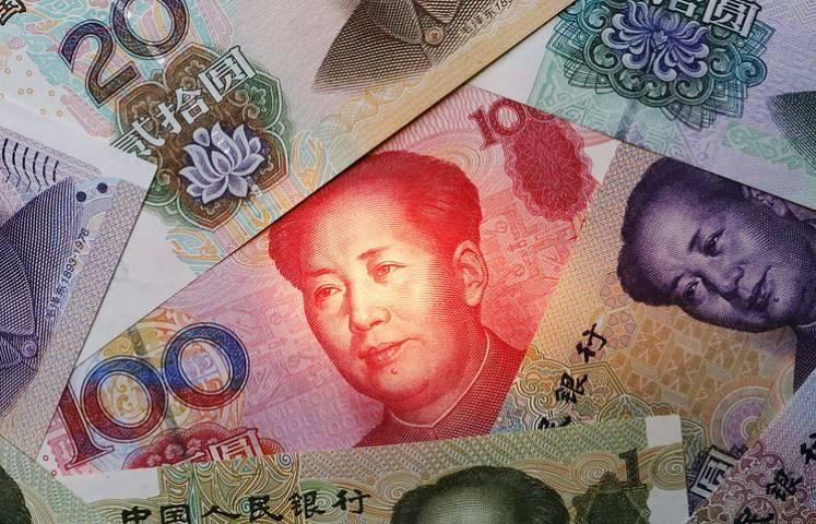 Юань резко упал в стоимости