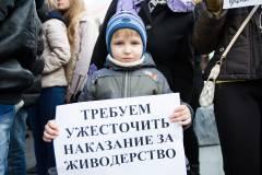Владивостокцы вышли на пикет против хабаровских живодерок