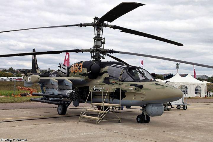 Вертолетчики ВВО нанесли удар по условному противнику