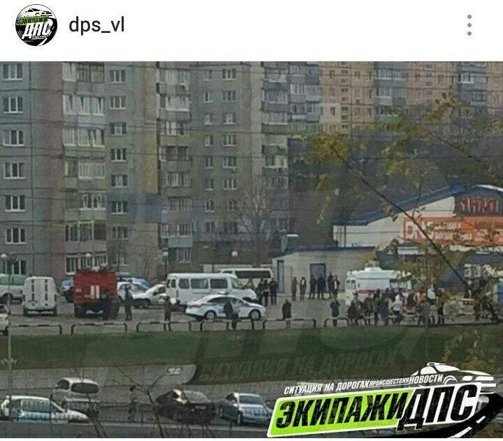 Из-за угрозы заминирования во Владивостоке эвакуировали торговый центр