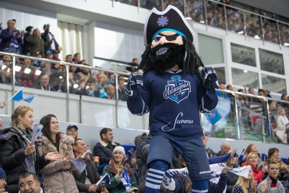 Владивостокский «Адмирал» обыграл хоккеистов «Сочи»