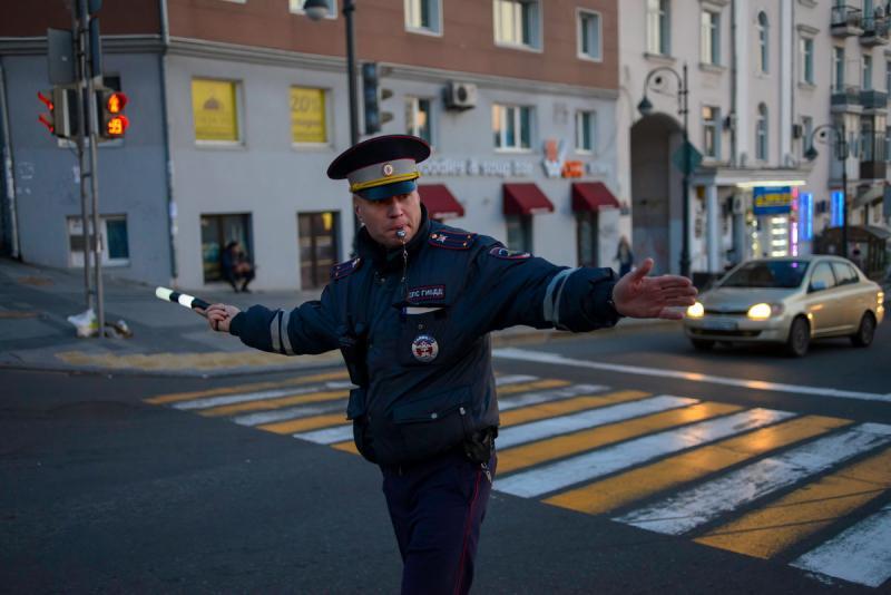 Госавтоинспекция сделала объявления для жителей Владивостока