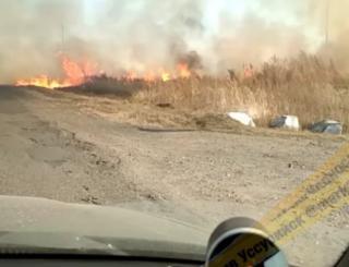 Дым от лесных пожаров создает аварийную ситуацию на дорогах Приморья