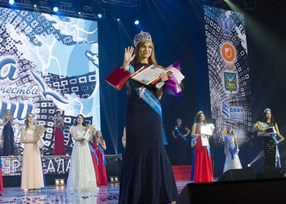 Хабаровчанка завоевала титул «Краса студенчества России – 2017»
