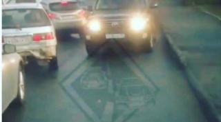 Водитель Land Cruiser лишится прав за выезд на «встречку» во Владивостоке