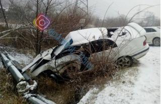 Снег в Приморье стал причиной сразу нескольких аварий