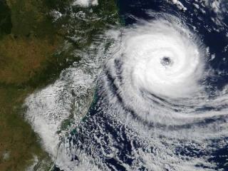 Из Китая к Приморью приближается новый циклон