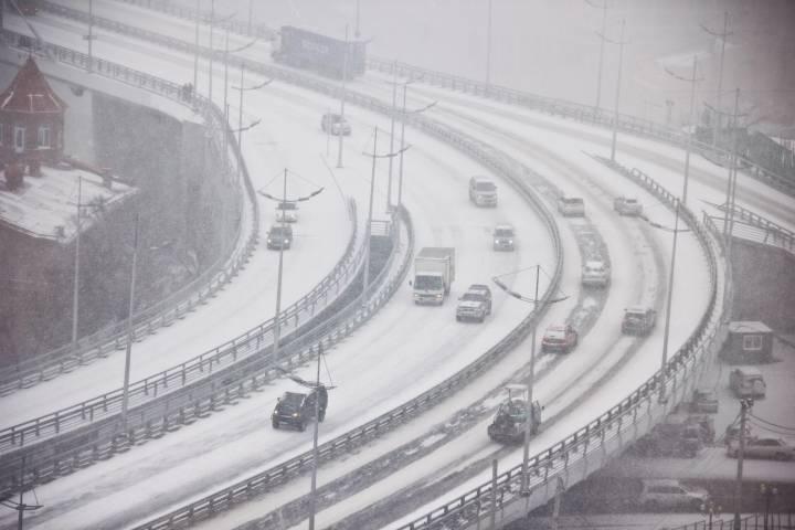 Ночью на Приморье обрушится очередная порция снега