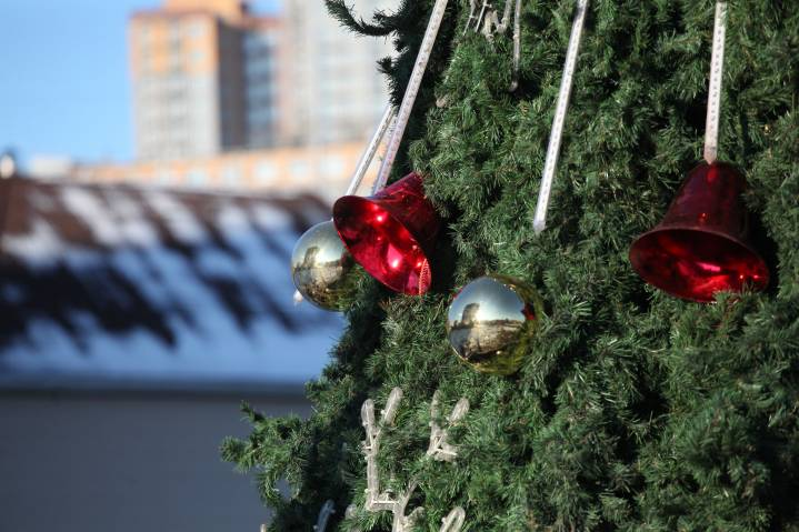 Владивосток начинает готовиться к Новому году