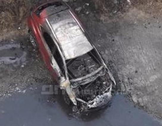Новый Lexus загорелся во Владивостоке