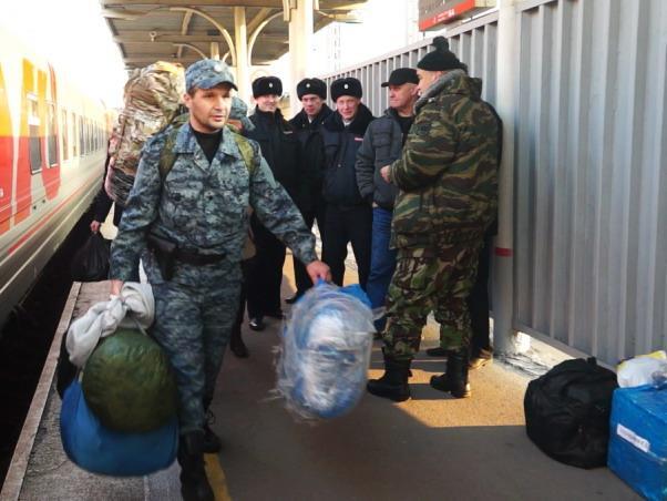 Приморские полицейские вернулись с Северного Кавказа