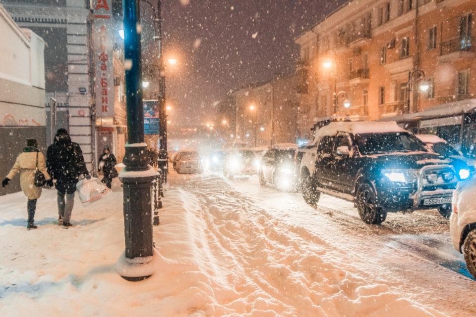«Снежный апокалипсис» накрыл Владивосток