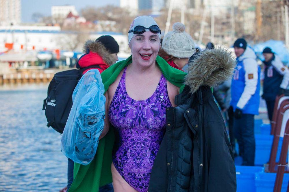 Во Владивостоке прошел этап Кубка мира по зимнему плаванию
