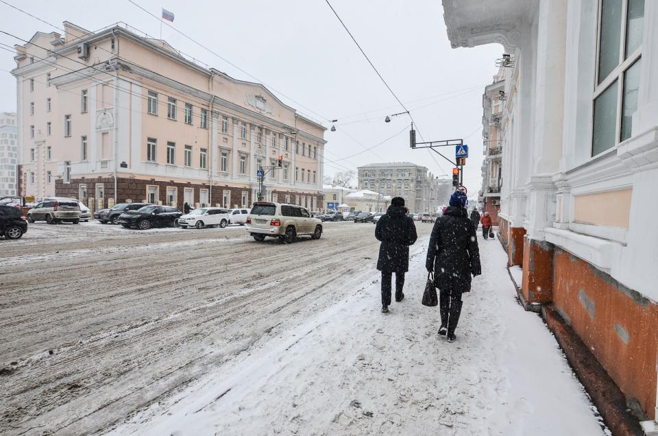 Снег с дождем ожидается в Приморье в середине недели