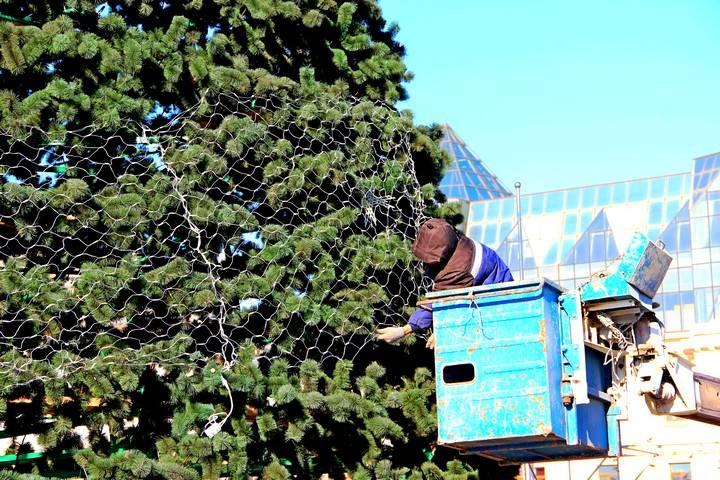 На украшение Владивостока к Новому году потратят более 11 миллионов