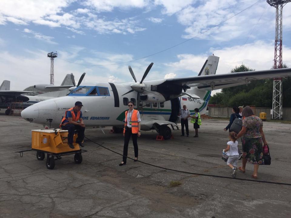 После катастрофы в Хабаровском крае приостановлены полеты L-410