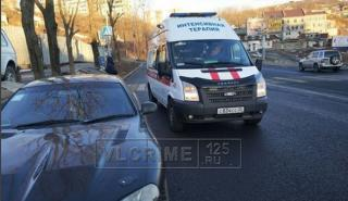 День во Владивостоке начался с ДТП, в которых пострадали пешеходы