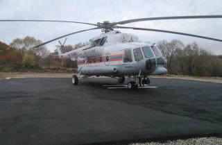 Приморца экстренно транспортировали  с острова Рейнеке во Владивосток