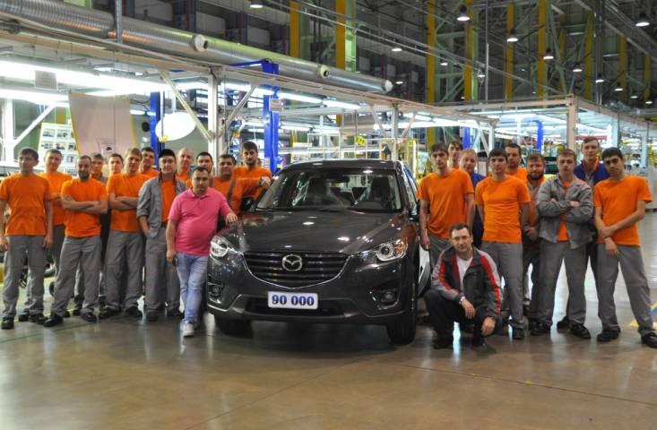 Новую Mazda CX-5 начнут собирать во Владивостоке в 2017 году