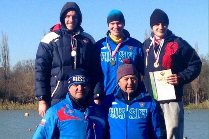 Приморский байдарочник привез две медали с Кубка России