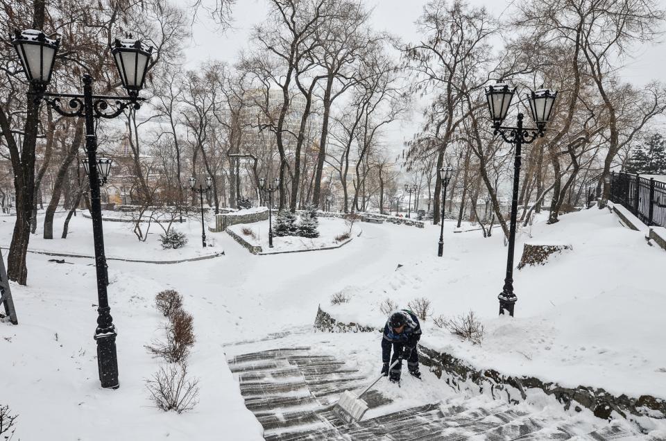 10 фактов о зиме в Приморье