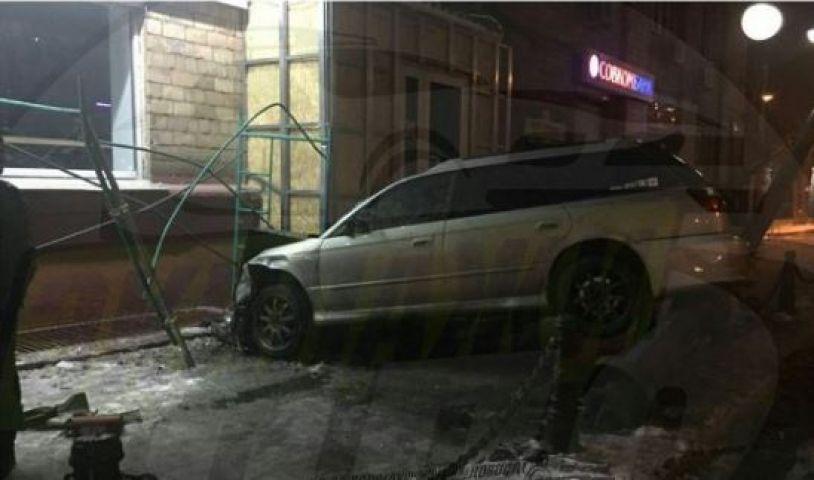 Необычное ДТП ради девушки совершил житель Владивостока