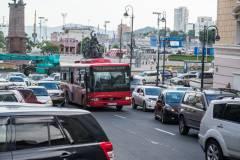 За рулем одного из автобусов Владивостока был пьяный водитель