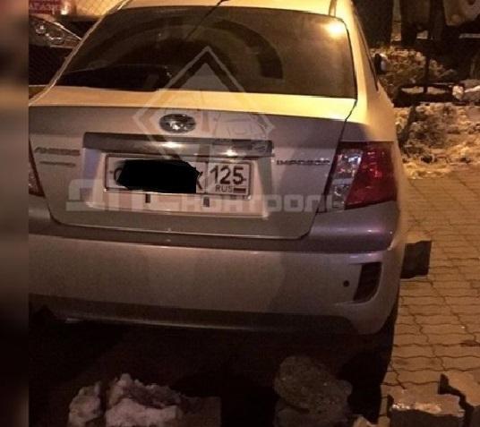 Новый способ наказания «мастера парковки» опробовали во Владивостоке