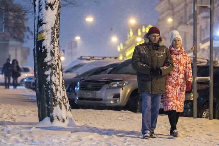 В Приморье пришли суровые зимние холода
