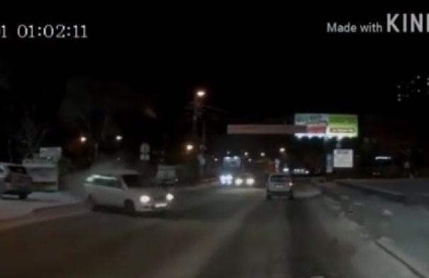 Автомобилист из Владивостока оказался не в том месте не в то время