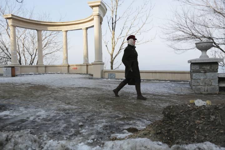 Осторожно: Владивосток. Город, скованный льдом