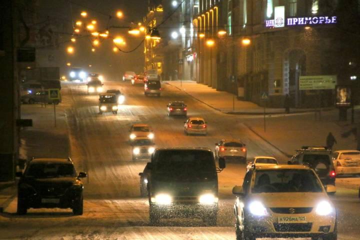 Вслед за морозом во Владивосток придет и снег