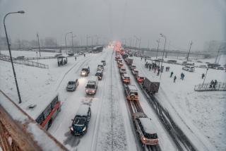 В эти выходные на Приморье обрушится снег