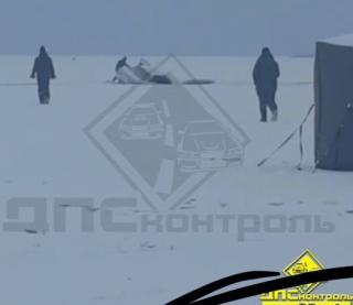 Классически закончилась поездка по льду в Приморье