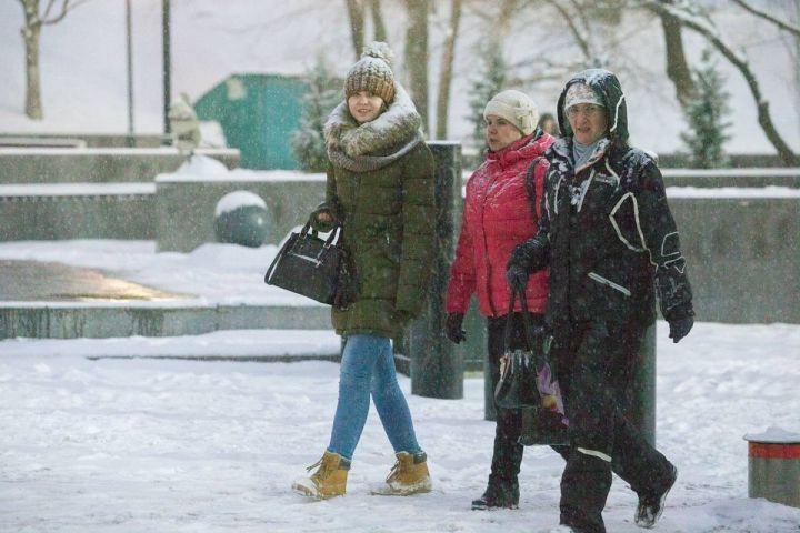 Во Владивостоке начался снег
