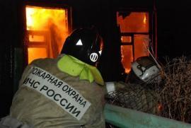Частный дом сгорел в Приморье