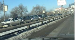 Массовая авария стала причиной внушительной пробки во Владивостоке